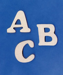 "View products in the 1-1/2"" Plywood Letters category"