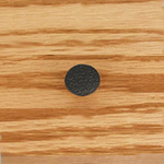 Black Hammered Finish Knob