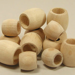 View products in the Unfinished Barrel Wooden Beads category