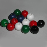 "View products in the 3/8"" Painted Round Beads category"