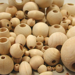 View products in the Unfinished Round Wooden Beads category