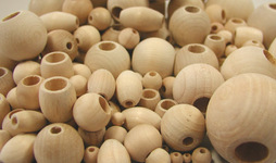 Beads, Wooden