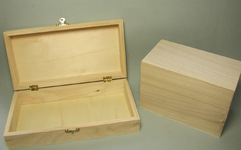 Hinged Wooden Boxes