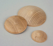 Wooden Domed Discs