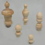 Finials With Tenons