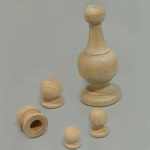 Finials Without Tenons