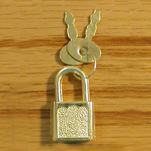 View products in the Padlock with Keys category