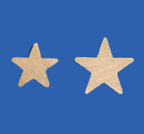 Solid Wood Stars