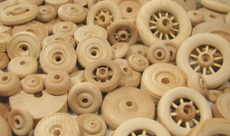 Toy Wheels, Wood