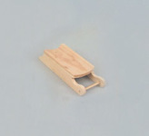 Miniature Wood Sleds
