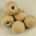 "More about the '3/4"" Wooden Ball Knobs' product"