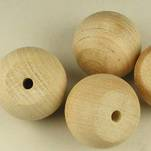"More about the '1-1/4"" Wooden Ball Knobs' product"