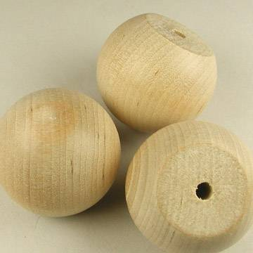 "1-1/2"" Wooden Ball Knobs"