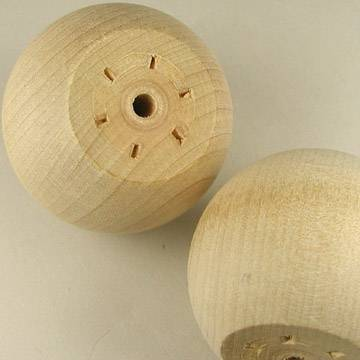 "2"" Wooden Ball Knobs"