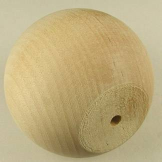 "2-1/4"" Wooden Ball Knobs"