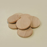 "More about the 'Wooden Discs, 1-1/8"" Dia. x 1/8"" Thick' product"