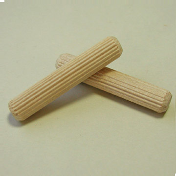 "3/8"" x 2""  Fluted Dowel Pins"