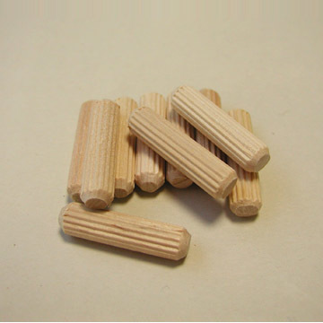 Fluted Wooden Dowel Pins Fluted Dowel Pins 1000 Straight Fluted Wooden Dowel Pins Wood Dowel Pins for Furniture 5//16 x 1 1//2 Wooden Dowel Pins Fluted Wood Dowel Pins