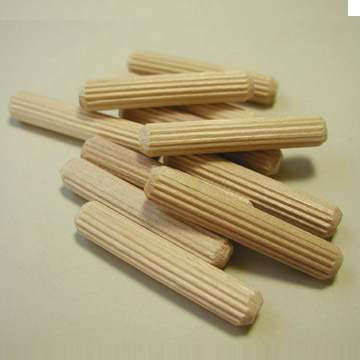 "5/16"" x 1-3/4"" Fluted Dowel Pins"