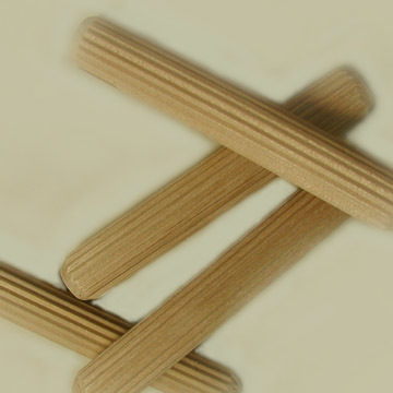 "5/8"" x 4"" Fluted Dowel Pins"