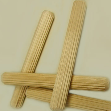 "5/8"" X 5 "" FLUTED DOWEL PINS"