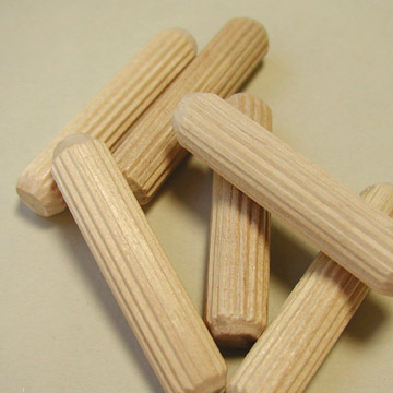 "7/16"" x 2"" Fluted Dowel Pins"