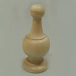 "More about the '4-3/8"" Finials with drilled hole' product"