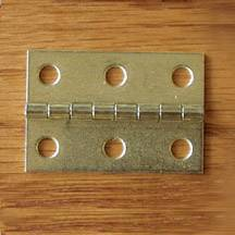 "2"" Brass Plated Hinges"