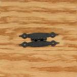 "More about the '3-1/2"" Black Hammered Hinges' product"