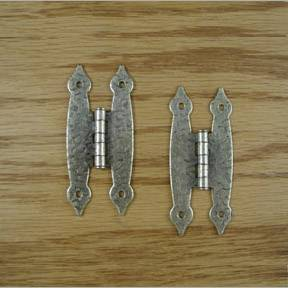 "3-1/2"" Antique Brass Hammercraft Hinges"