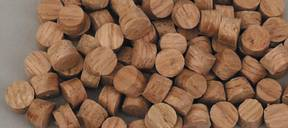 Face Grain Plugs, Oak 3/8""