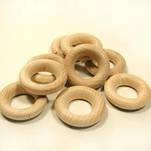 "More about the '1-1/2"" Wooden Rings-Game Pieces' product"