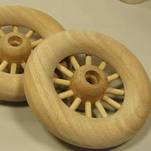 "More about the '4-1/4"" Spoked Wheels' product"