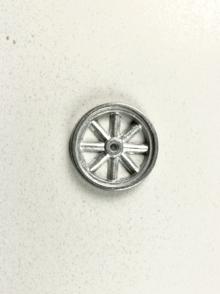 "1"" Toy Metal Wheel"