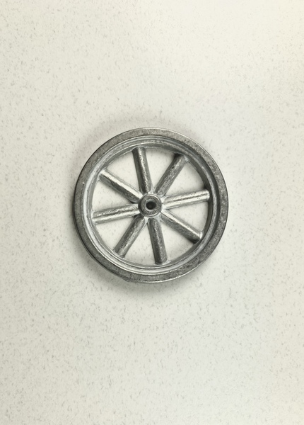 "2"" metal spoked wheel"