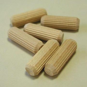 "1/2"" x 1-1/2"" Fluted Dowel Pins"